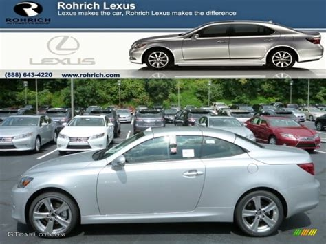 metallic lexus 2013 mercury metallic lexus is 250 c convertible 84404082