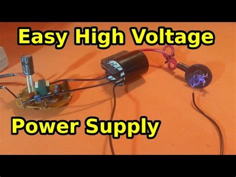 How Wire Flyback Transformer Make High Voltage