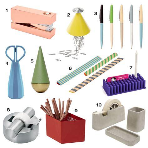 office supplies 10 modern office supplies to up your desk design milk