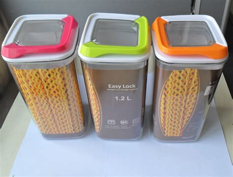 plastic storage containers for kitchen 1pcs plastic seal storage containers nuts suger tea 7506