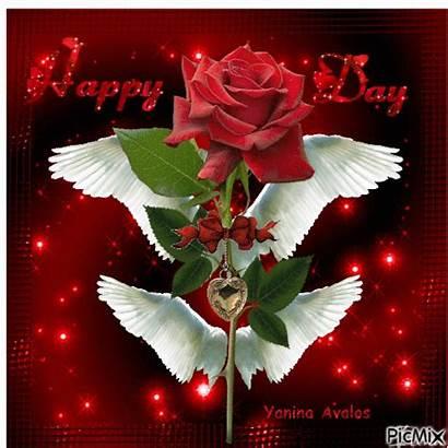 Gifs Valentines Picmix Rose Angel Valentine Happy