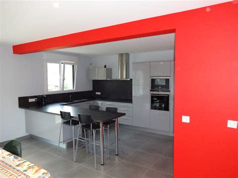 cuisine ouverte en l principe de cuisine en u cuisine de cuisine cuisines et idée cuisine