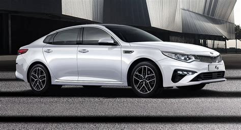 kia  previews facelifted optima  western markets