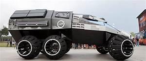 NASA unveils futuristic mars rover concept vehicle