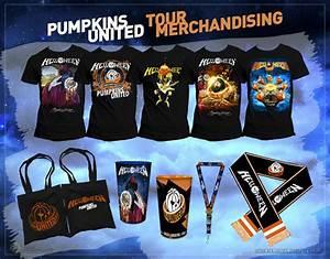 Helloween: Conheça O Merchandising Da Pumpkins United Tour ...