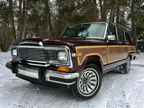 classic jeep wagoneer for sale 1981 jeep wagoneer limited by grand wagoneer by classic