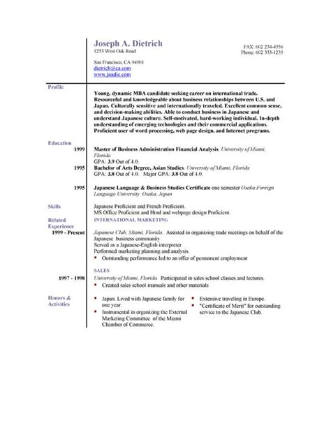 Free Resume Format Downloads by 85 Free Resume Templates Free Resume Template Downloads
