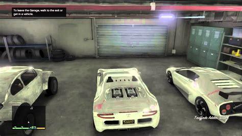 Gta 5 Fully Custom Garage All Cars Chrome And Customized