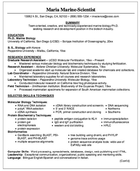 marine resume marines resume writing exle marines to