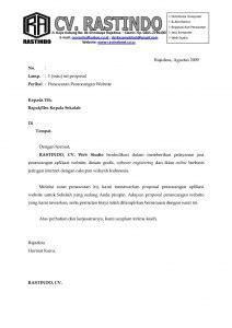 Contoh Surat Pesanan Jasa by Surat Resmi Balasan Penawaran Barang Surat Ras