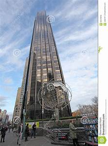 Trump Tower, NYC, USA editorial image. Image of united ...