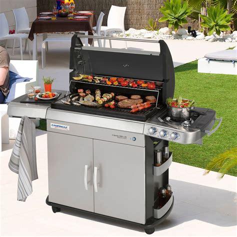 cuisine a gaz barbecue gaz et plancha de campingaz zendart design
