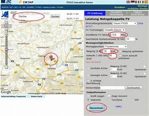 Download Länge Berechnen : photovoltaik planungshilfe pv auswertung m ~ Themetempest.com Abrechnung