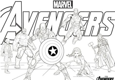 avengers infinity war end game free printable coloring