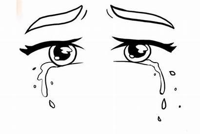 Tears Draw Drawing Step Tear Eye Paper
