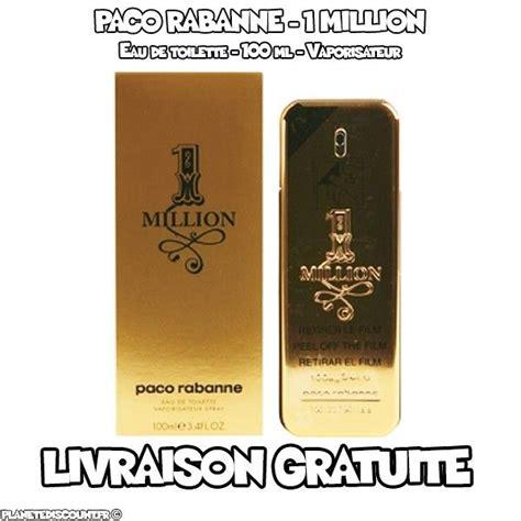 paco rabanne eau de toilette prix achat vente paco rabanne 1 million eau de toilette 100