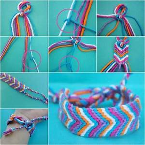 16 fantastic and colorful diy bracelets
