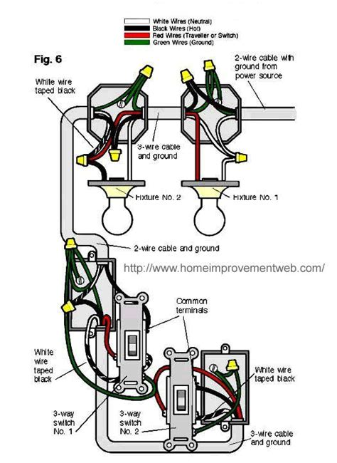 2 lights one switch diagram switches 2 lights line in