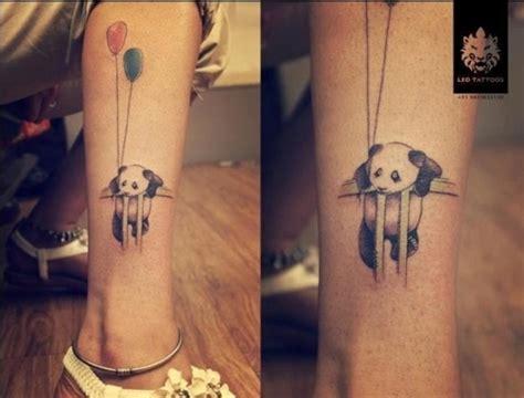 awesome panda bear tattoo ideas