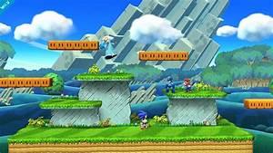 New Super Mario Bros U Level Appearing In Smash Bros