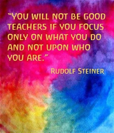 Rudolf Steiner Quotes Early Childhood Education