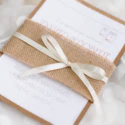 inexpensive wedding invitations cheap rustic burlap layered wedding invitations ewls050 as low as 2 19