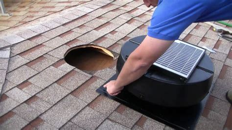 how to install an attic fan installation instructions 1010tr 9915tr us1110 solar