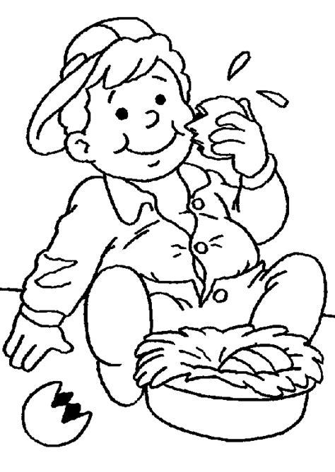chambre 3d en ligne coloriage paques enfants à colorier allofamille