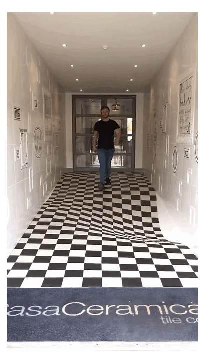 Illusion Optical Floor Ceramica Casa Practical Britain