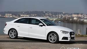 Audi A3 Berline 2017 : audi a3 berline 2 0 tdi 150 quattro s line youtube ~ Medecine-chirurgie-esthetiques.com Avis de Voitures