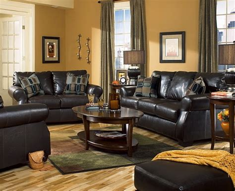 Living Room Living Room Colors With Black Furniture