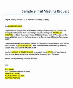 business e mail format free premium templates With email template to request a meeting