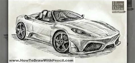 ferrari drawing how to draw a ferrari scuderia spider 16m drawing