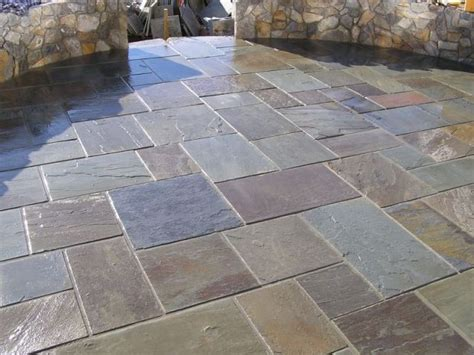 homeofficedecoration slate tiles   patio