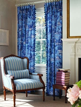 calico corners blue curtains with white rod white rings