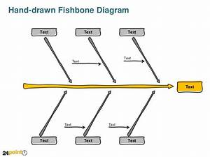 Hand Drawn Fishbone Diagram