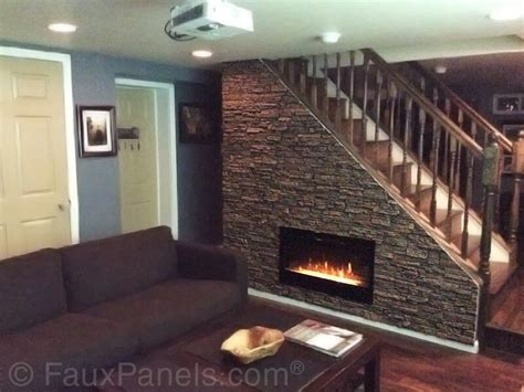 contemporary fireplace surround ideas 30 faux brick and rock panel ideas pictures