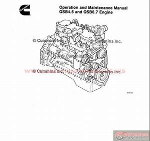 Cummins Qsb4 5  U0026 Qsb6 7 Engine Operation  U0026 Maintenance