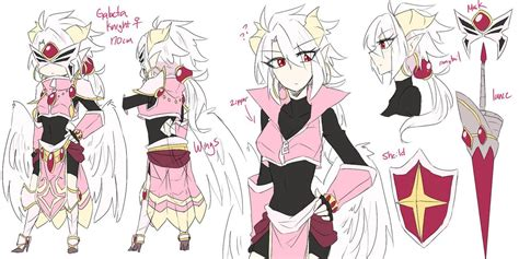 Kirby Planet Robobot Wallpaper Kirby Gijinka Galacta Knight Bio Sheet By Banami Luv On Deviantart