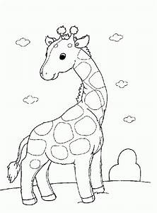 African Animals Coloring Pages Coloring Home