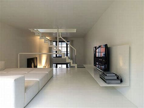 home design interior and exterior apartment renovated industrial factory into minimalist