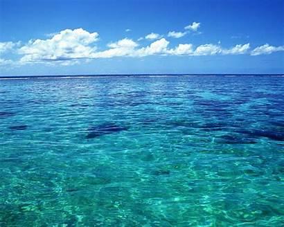 Clear Water Crystal Sea Tahiti 10wallpaper Ocean