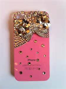 Pink Bling Phone Case for iPhone 4