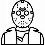 Jason Svg Voorhees Icon Vector Icons Halloween