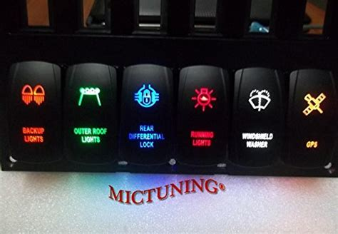 Mictuning Pin Zombie Rocker Switch Off Led Light