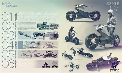 royal enfield pioneer  daniel gunnarsson design poster