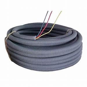 gaine prefilee d39installation 3 x 25 mm2 l100 m leroy With gaine electrique pour exterieur