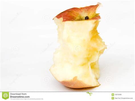 Apple bite stock photo. Image of nutrition, fruity ...