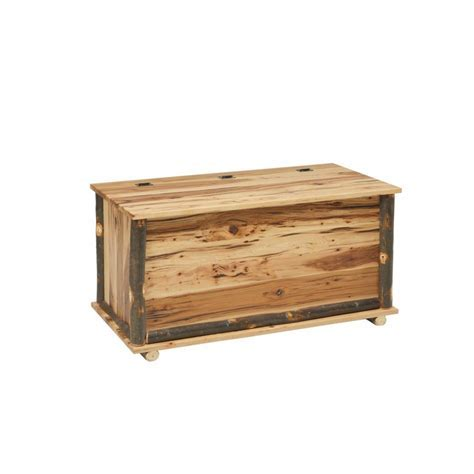 Rustic Blanket Chest   Amish Crafted Furniture