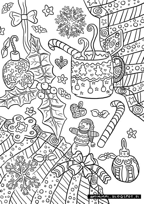 Coloring Pages by Optimimmi 2016 Coloring Pages 2016 V 228 Rityskuvat